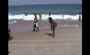 Só gostosas na praia de Copacabana