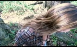 Ex namorada fazendo um boquete na trilha